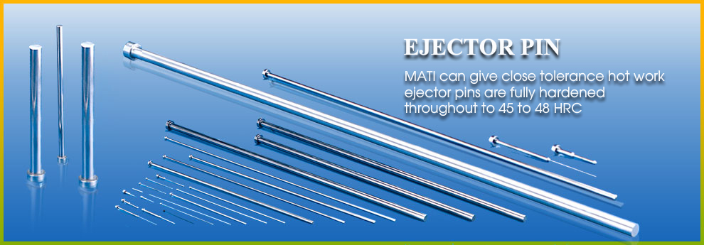 Ejector Pins, Ejector Pin Manufacturers